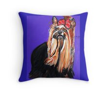 NEW YOUR YORKIE Throw Pillow