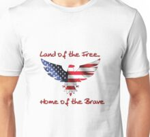 America - Land of the Free Unisex T-Shirt