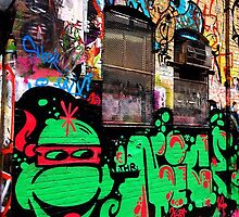 Cambridge Graffiti Alley I by AC-Photography