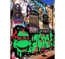 Cambridge Graffiti Alley I Photographic Print