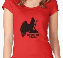 Queen of the fairies Women's Fitted Scoop T-Shirt