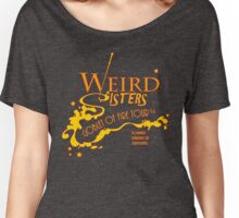 The Weird Sisters Goblet of Fire Tour '94 yellow Women's Relaxed Fit T-Shirt
