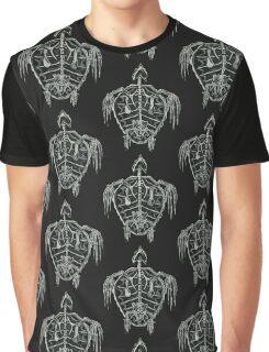 Turtle Skeleton Graphic T-Shirt