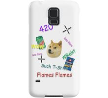 """Much Lens Flare"" - A Shirt by Josh Samsung Galaxy Case/Skin"