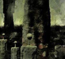 Dark Fantasy - My Happy Place Sticker