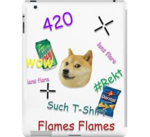 """Much Lens Flare"" - A Shirt by Josh iPad Case/Skin"
