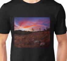 Beautiful vibrant sunset clouds landscape Unisex T-Shirt