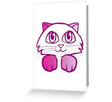 cat6 Greeting Card
