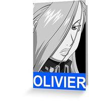 Olivier Armstrong Anime Manga Shirt Greeting Card