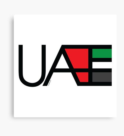 UAE Canvas Print