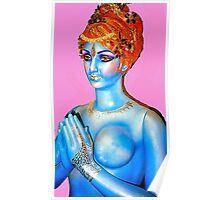Kitsch Indian Icon Poster