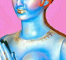 Kitsch Indian Icon Sticker