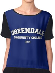 Greendale Community College Chiffon Top