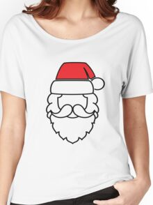 Santa Claus Red Hat Women's Relaxed Fit T-Shirt