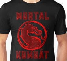 MORTAL  SPLATTER Unisex T-Shirt