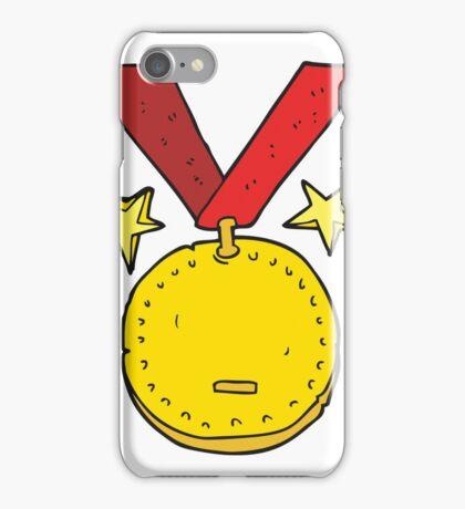 cartoon sports medal iPhone Case/Skin