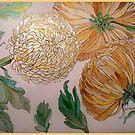 Chrysanthemums 21 by Gea Austen