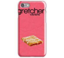 Mean Girls Minimalist Poster - Gretchen Wieners iPhone Case/Skin