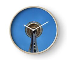 Space Needle at Night Clock