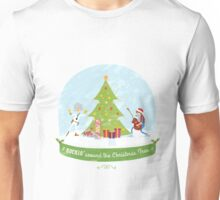 Rockin' around the christmas tree(Back to the future) Christmas Unisex T-Shirt