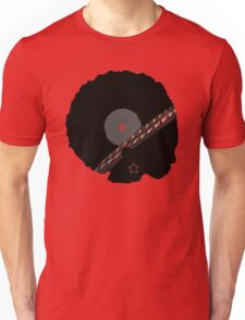 Afro Vinyl Record - African Woman Unisex T-Shirt