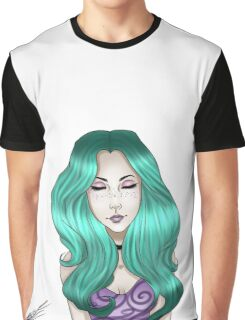 Mermaid Hair Graphic T-Shirt