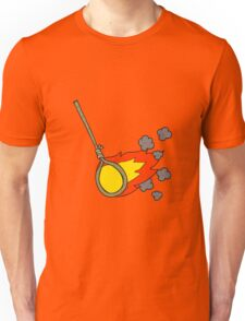 cartoon flaming noose Unisex T-Shirt