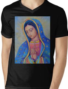 Our Lady of Guadalupe for sale, Vergin de Guadalupe, Virgin Mary Madonna Mens V-Neck T-Shirt
