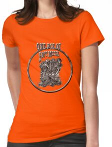 Soft Metal Womens Fitted T-Shirt