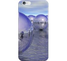 Spheres On The Water iPhone Case/Skin