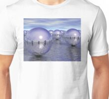 Spheres On The Water Unisex T-Shirt