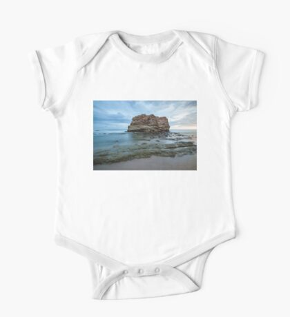 Big rock beach sunset One Piece - Short Sleeve