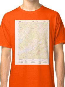 USGS TOPO Map California CA Spicer Meadow Reservoir 20120314 TM geo Classic T-Shirt