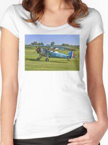 Morane-Saulnier MS.317 G-MOSA 351/HY22 Women's Fitted Scoop T-Shirt