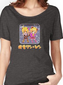 Chibi Kagamine Cats Women's Relaxed Fit T-Shirt