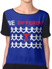 Be Different Chiffon Top