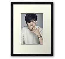 Handsome Lee Min Ho Framed Print