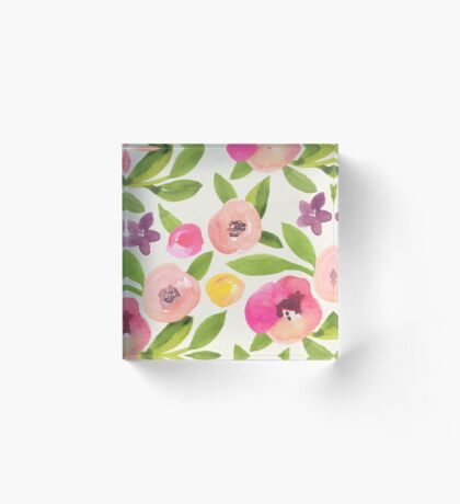 Spring is coming! Acrylic Block