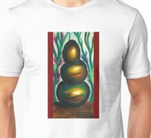 Zen stones three Unisex T-Shirt