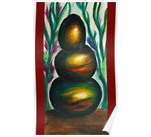Zen stones three Poster