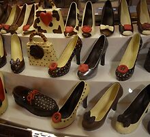 Chocolate Shoes by Dotti Hannum