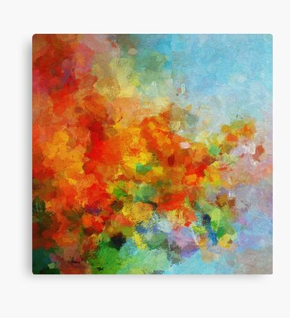Abstract Landscape Art Canvas Print