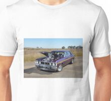 Supercharged 1970 Wild Violet Ford Falcon XY Unisex T-Shirt