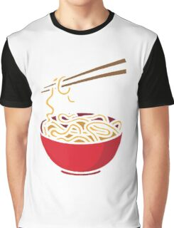 Time to eat Noodle Graphic T-Shirt