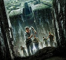 The Maze Runner Poster by mydeargladers