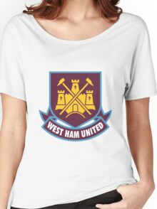 west ham united Women's Relaxed Fit T-Shirt