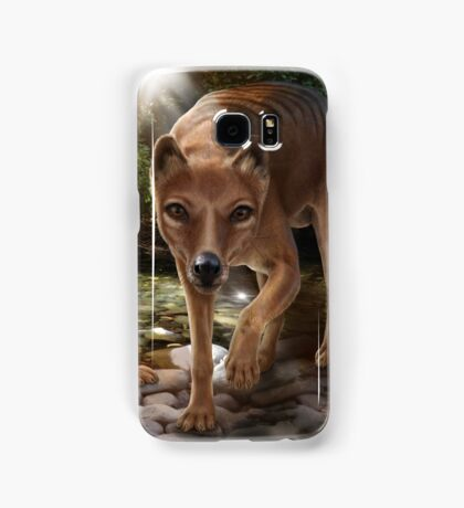 Tasmanian tigers (Thylacines) mother & pup Samsung Galaxy Case/Skin