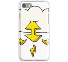 cartoon digital cloud iPhone Case/Skin