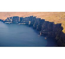 Cliffs of moher ireland Photographic Print