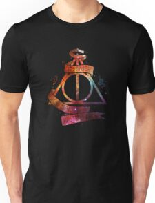 galaxy deadly hollow harry potter Unisex T-Shirt